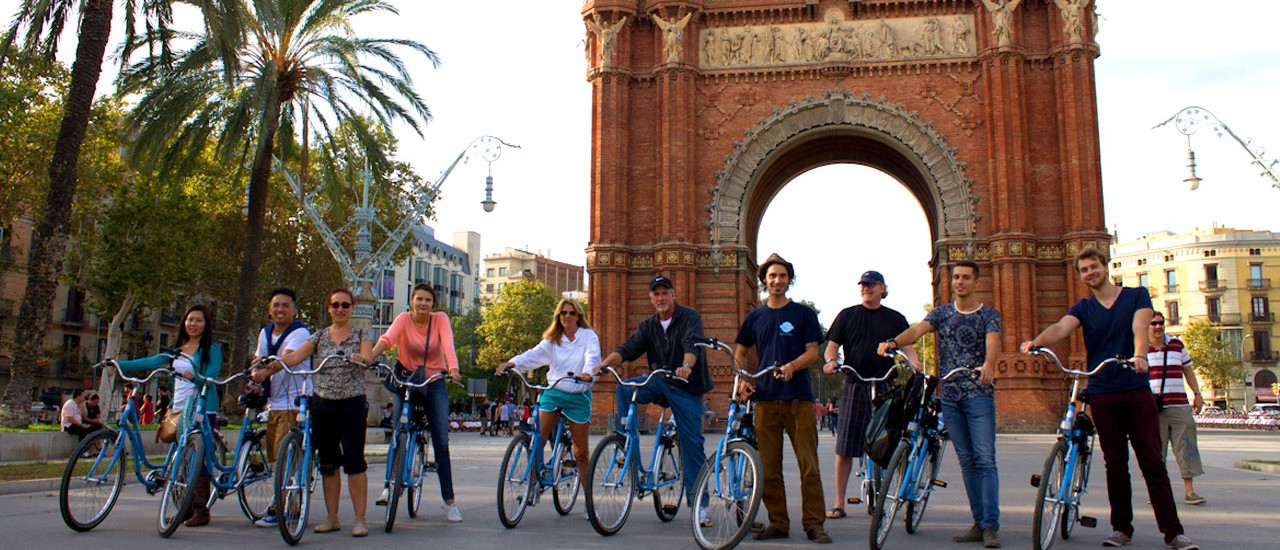Bike tours and bike rentals in Barcelona