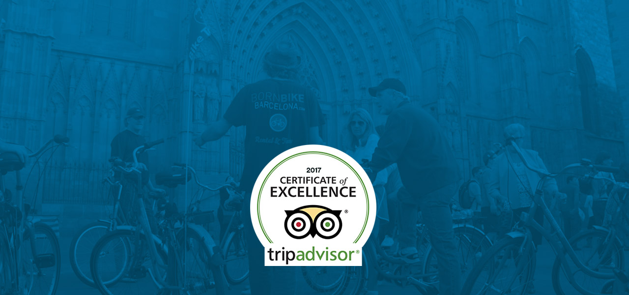 2017 Certificate of Excellence by TripAdvisor