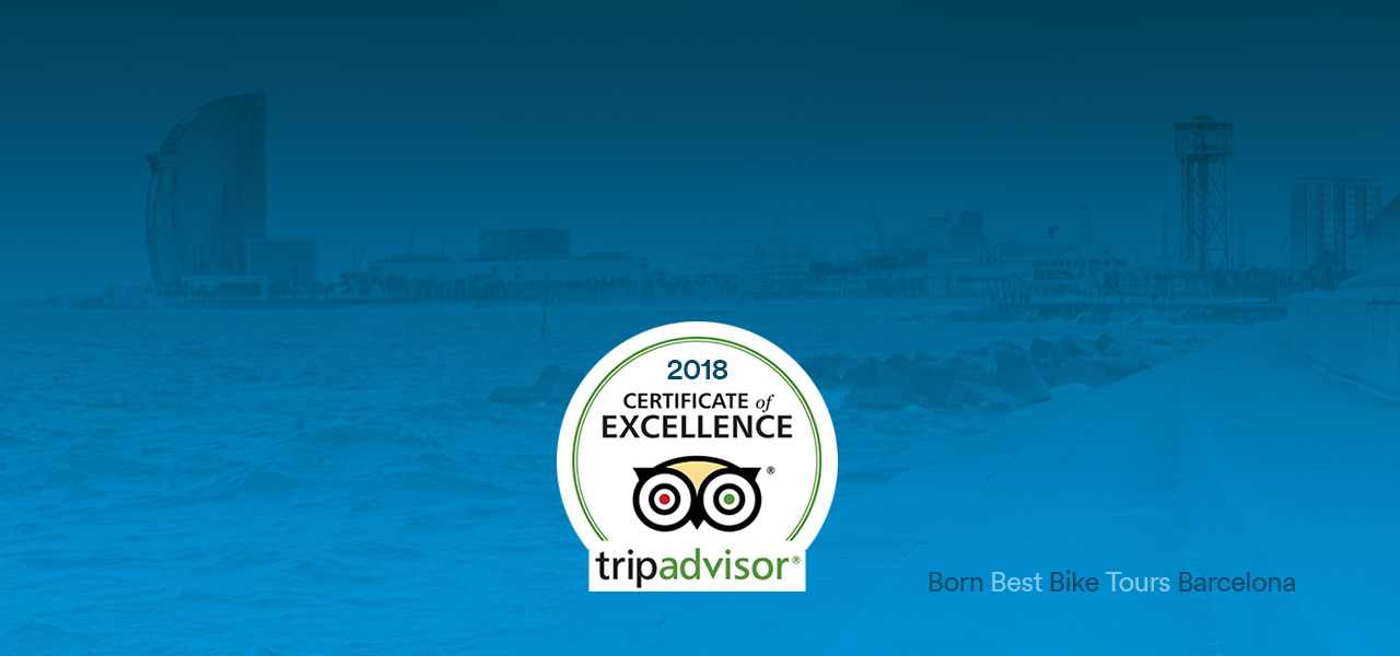 2018 Certificate of Excellence by TripAdvisor